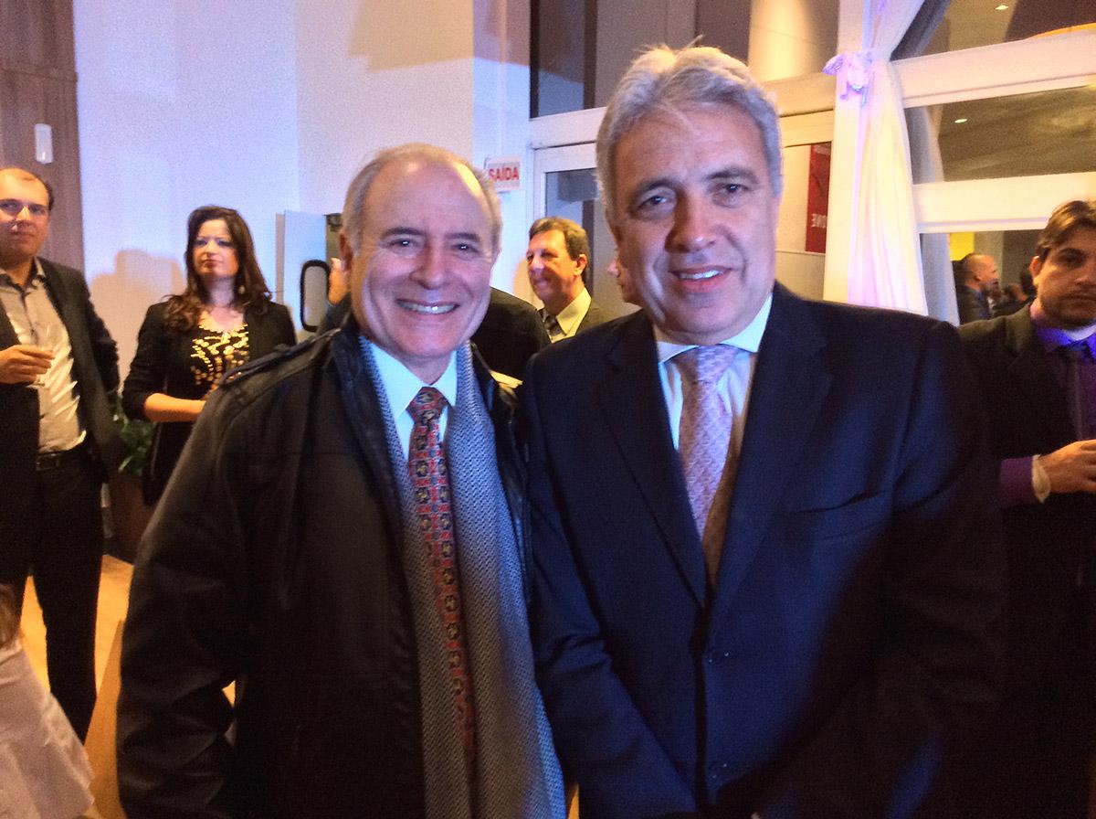 Marco Antônio Togni e Eduardo Gribel - Diretor Superintendente da Tenco Shoppings Centers S.A.